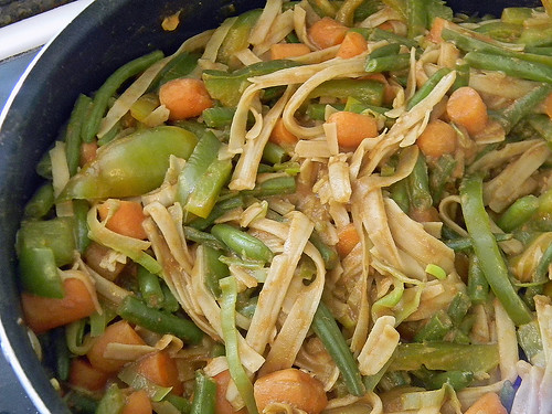 Thai Peanut and Vegetable Noodles