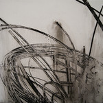 Bamboo II - Ink on Vellum - Heidi Jung: Black and White, Jeffco Alumni Exhibition