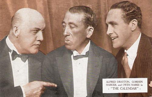 Gordon Harker, Alfred Drayton, Owen Nares