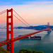Golden Gate Bridge during sunset - San Francisco California by mbell1975