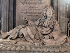 Monument to Sir Lyon Pilkington at Wakefield Cathedral