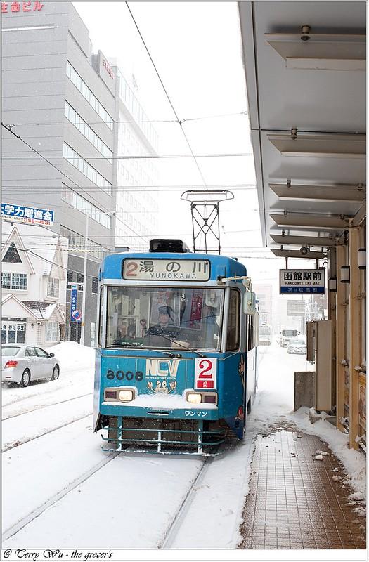 Day2 - 函館市電-五稜郭前-7