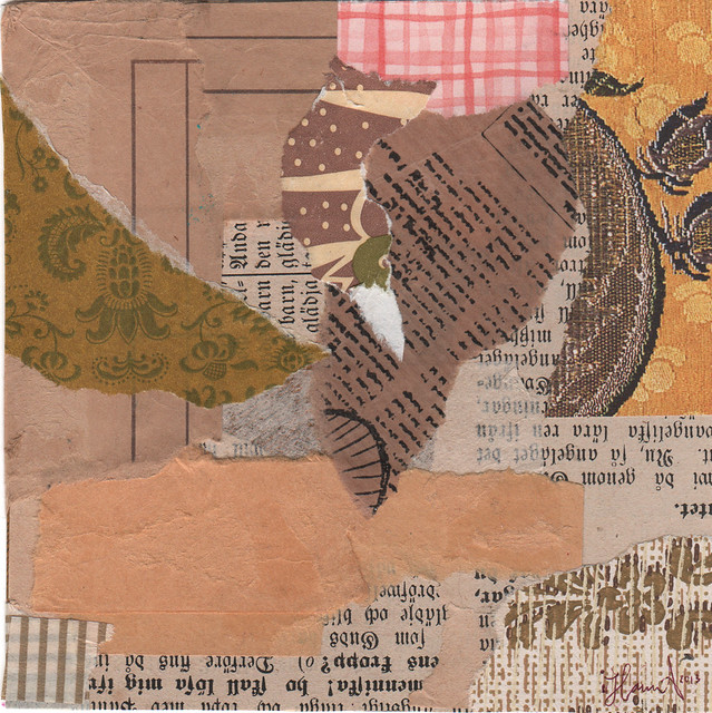 Collage: Paper Walls