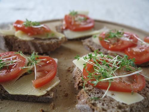 Bread Breakfast Tomato Frühstück Brot Tomate Food Essen