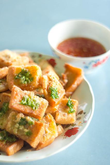 Thai's Minced Pork on Bread ขนมปังหน้าหมู