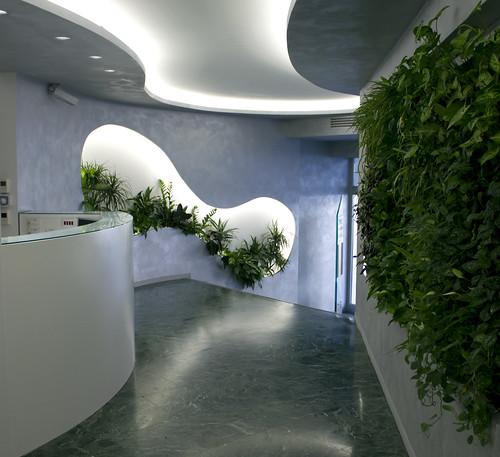 BIESSE, Milano - GIARDINI VERTICALI  - INDOOR