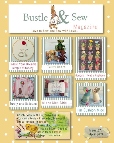 Bustle & Sew Magazine April 2013