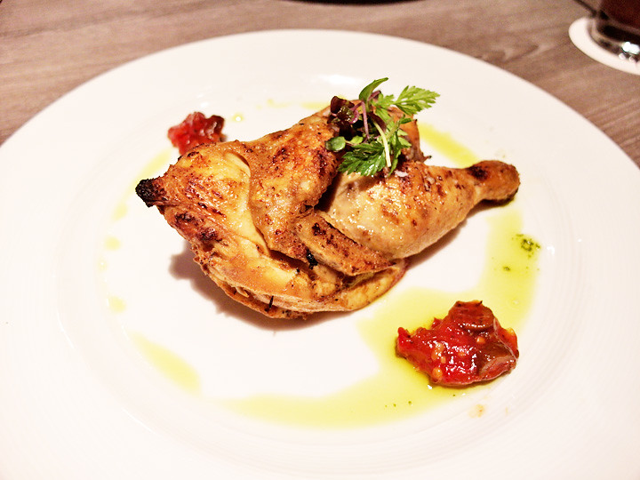 roast half spring chicken breez bistro bar at grand mercure roxy hotel