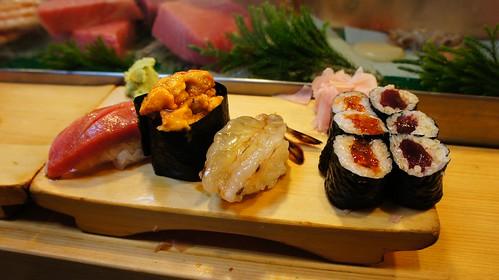 Sushi en Daiwa Sushi