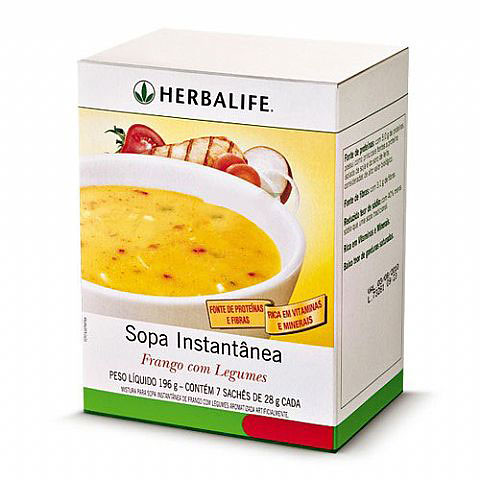 Sopa Herbalife Frango com Legumes