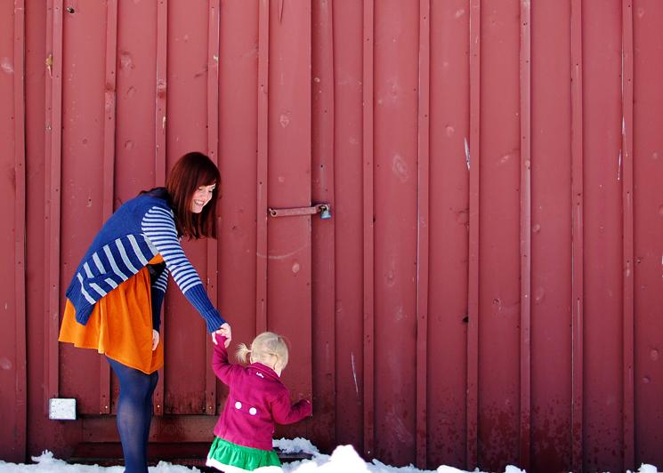 Farm Fun in the Snow
