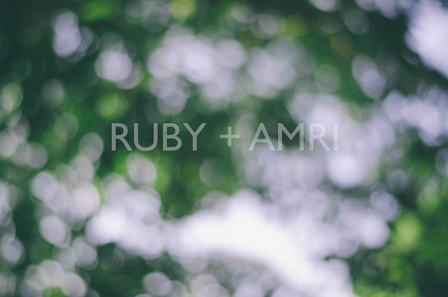 Raikan Cinta | Ruby + Amri