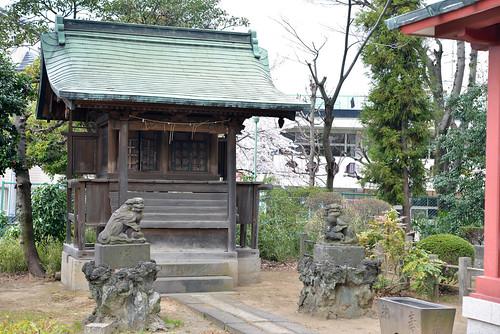 """Katsusika-ku TOKYO """"Shibamata Hatchman-jinjya"""""""