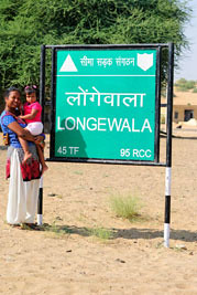 Smita & Rianna at Longewala border