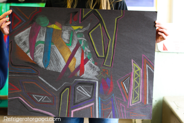 HS Art Lesson//Cubism