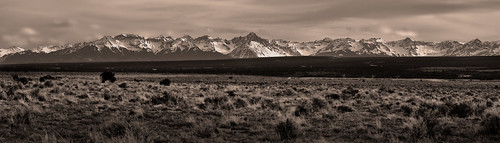 mountains beautiful sepia contrast landscape 50mm prime san colorado farm country 14er f18 distant juans