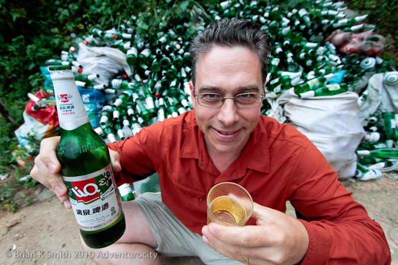 Post-Longsheng Rice Terrace Hike Beer