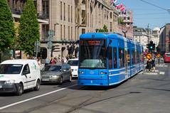 Spårväg City - Straßenbahnlinie 7 in Stockholm