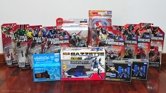 Tokyo Transformers loot - March 2013