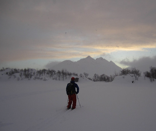 The weather breaks after surprise evening powder.