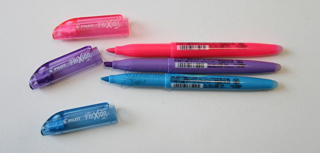 Pilot FriXion Highlighters Uncapped