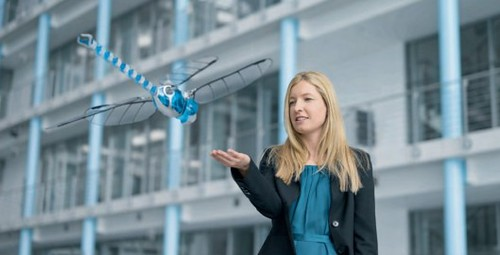 BionicOpter - робострекоза от Festo