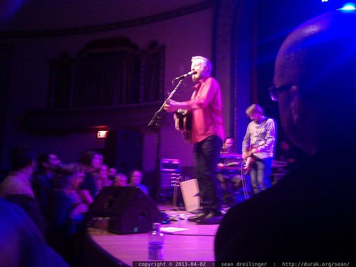 Billy Bragg at the Aladdin Theater in Portland, Oregon   IMG 20130402 220330
