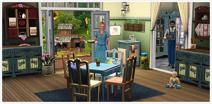 [Info] Blog - Los Sims 3: Vida Campestre (Set de la Store)
