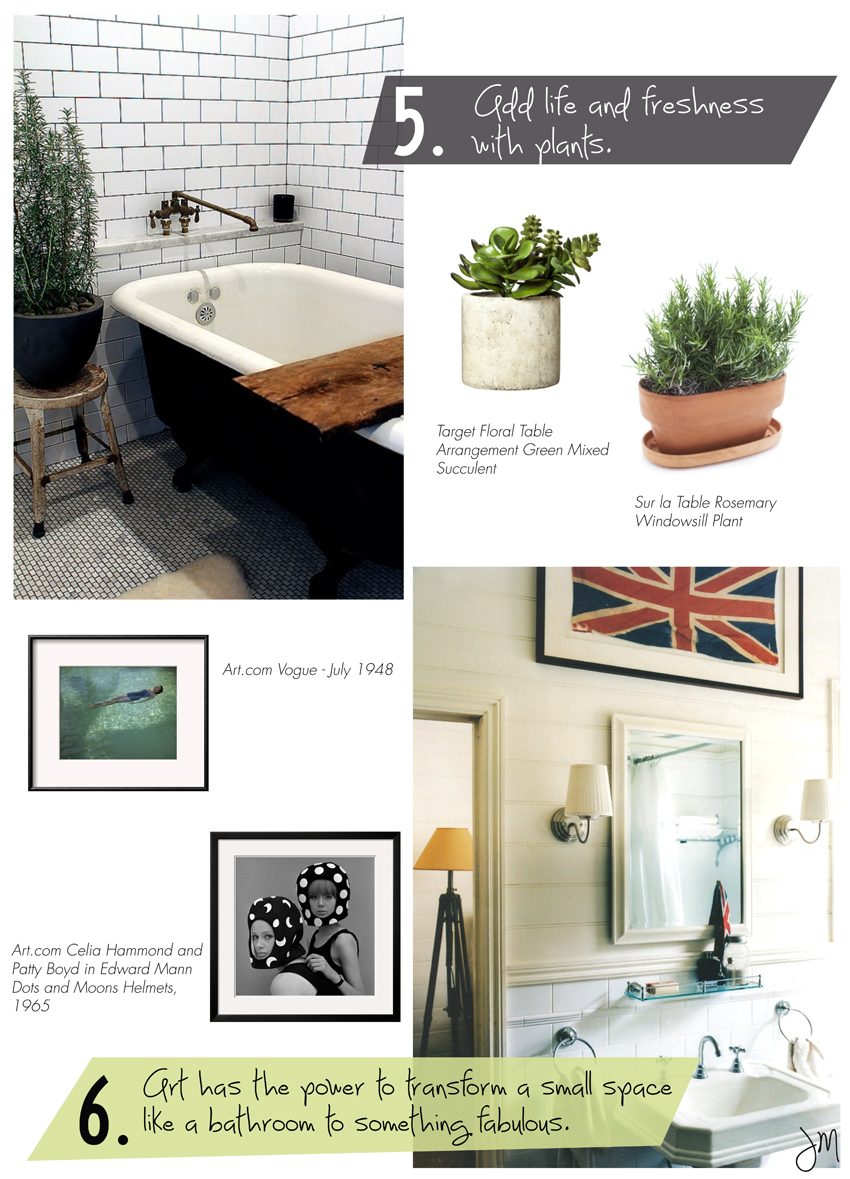 Julip Made bathroom styling tips