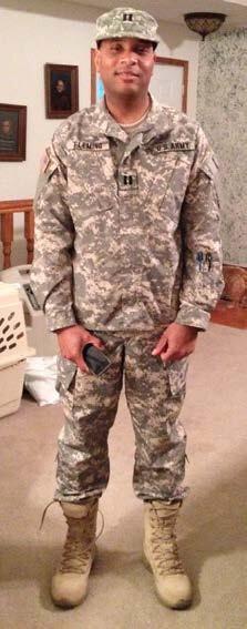 Corizon behavioral health regional director becomes captain in National Guard
