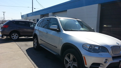 2010 BMW X3 detailed in Frederick Md