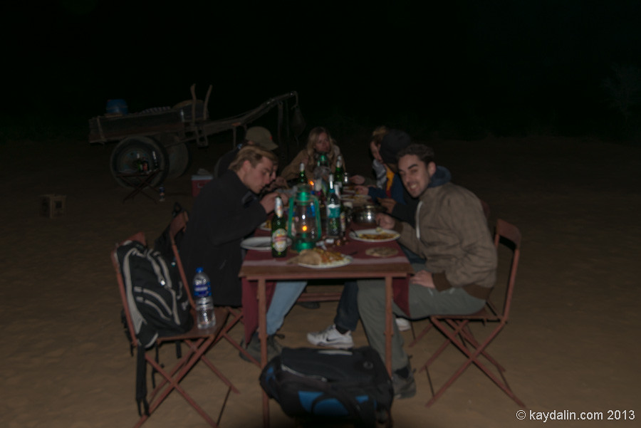 New year 2013 in India desert