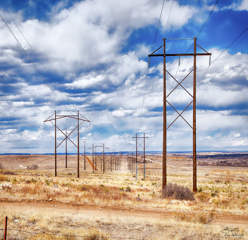 Power Lines In Backyard: Elevation Of CO-, Colorado Springs, CO, USA