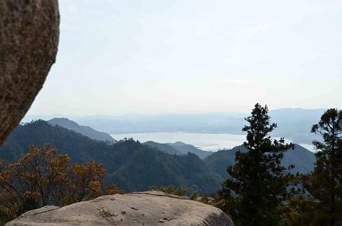 View from Mt Misen on Miyajima