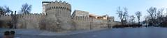 Baku Town Walls Panorama