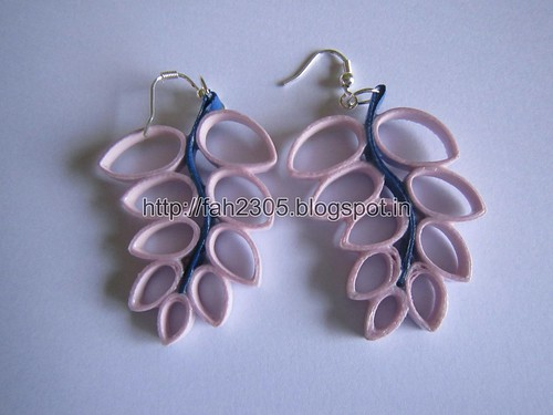 Handmade Jewelry - Paper Quilling Earrings (4) by fah2305