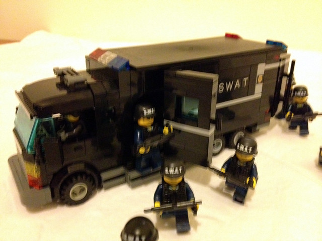 Lego Swat Mocs A Gallery On Flickr