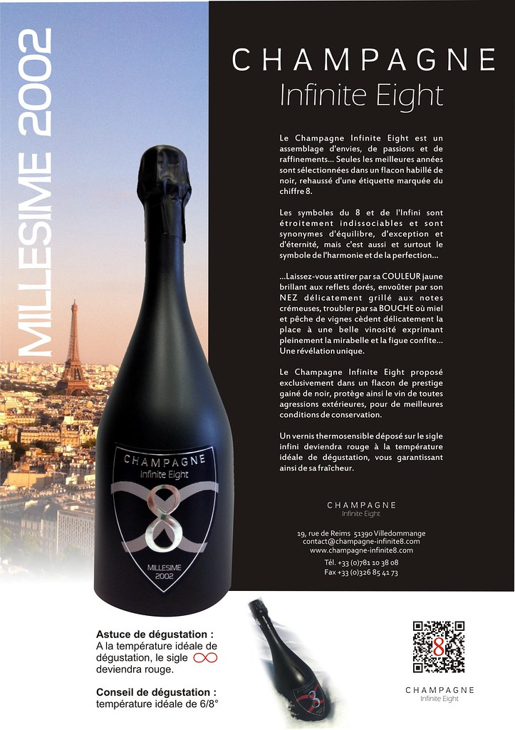 Temperature Conservation Vin Rouge #5: Champagne Infinite Eight