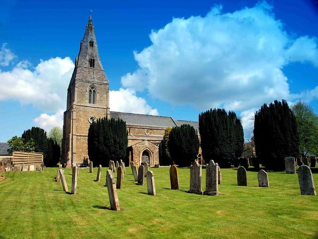 Cemetery of Seaton Church Rutland