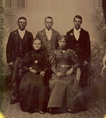 Found tintype of Lompoc residents