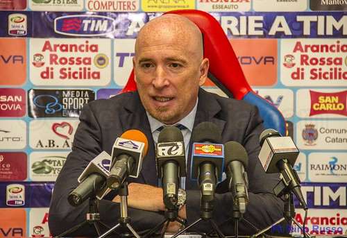 Catania-Siena 3-0, parola ai protagonisti: Maran, Iachini, Gasparin, Bergessio e Frison$