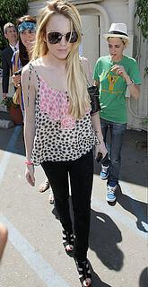Lindsay Lohan Camisole Vest Celebrity Style Women's Fashion
