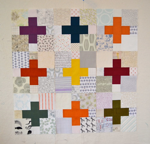 Oakshott and low volume plus quilt