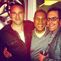 David and Brian with Stephen at his birthday party - Happy Birthday Stephen!