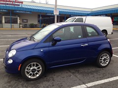 Fiat 500 Sport Azzuro (Rental Car)