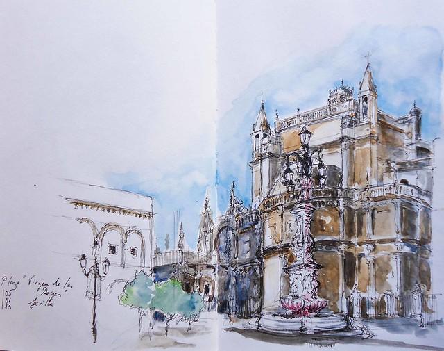 Plaza del Triunfo Sevilla