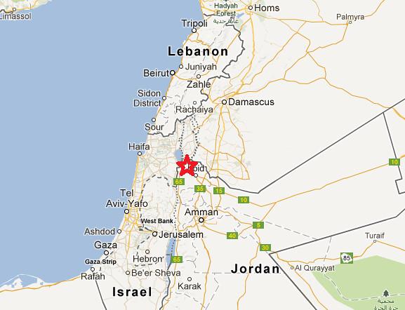 Um Qays Map
