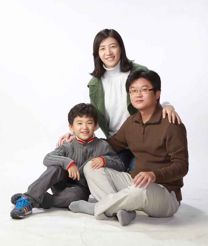 가족사진/박현권/홍규영/박하늘