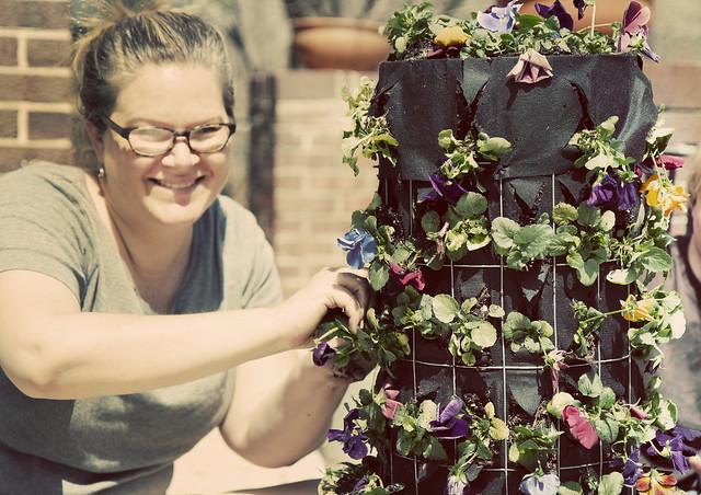Aimee Finishing Flower Tower