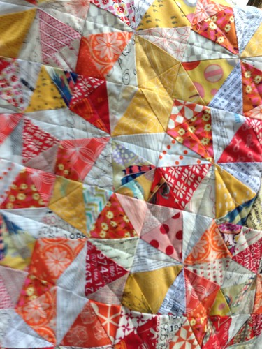 Kaleidoscope 3/4 quilted